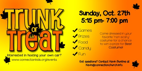 Trunk or Treat at Connection Church