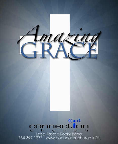 Amazing Grace bulletin